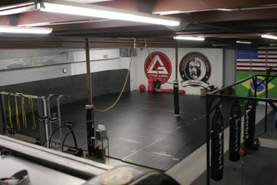 Photo of the mat space